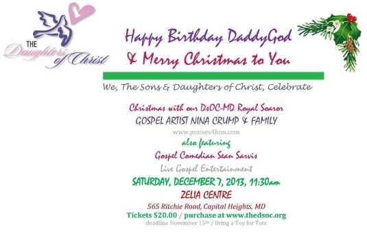 Christmas 2013 Celebration